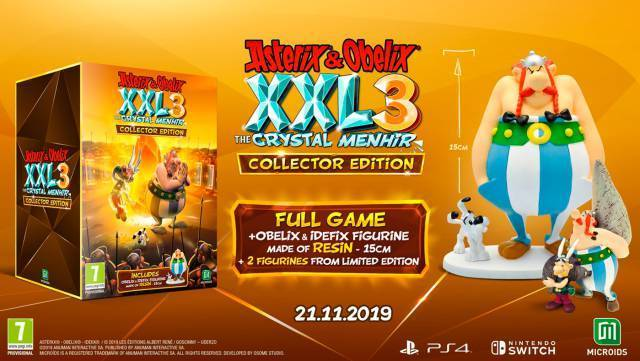 Asterix&Obelix XXL 3 Collector's Edition