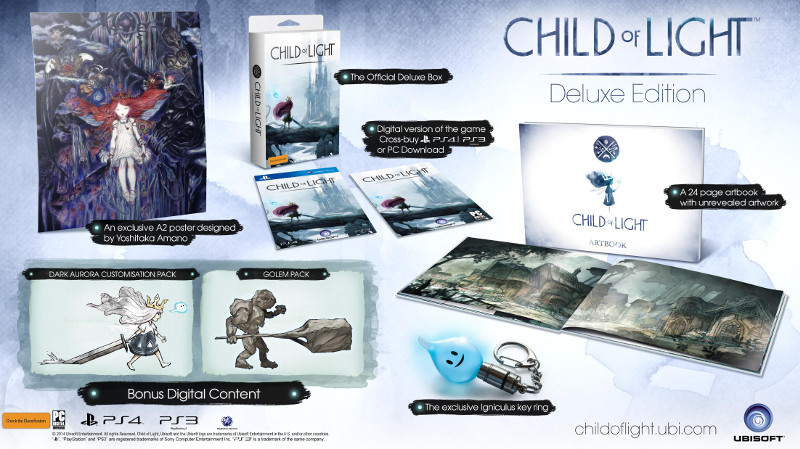 Child of Light Deluxe Edition