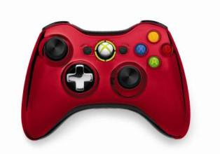 chrome series pad red