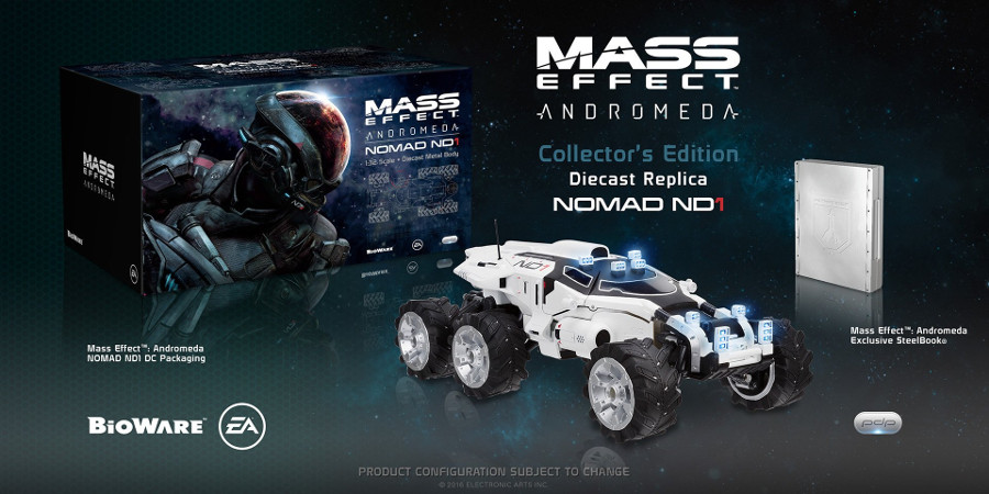 Mass Effect 3 Collectors Nomad ND1