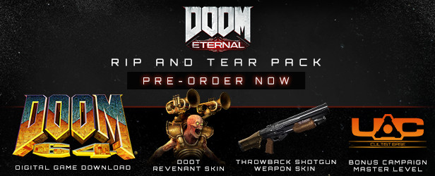 Doom Eternal Preorder bonus pack