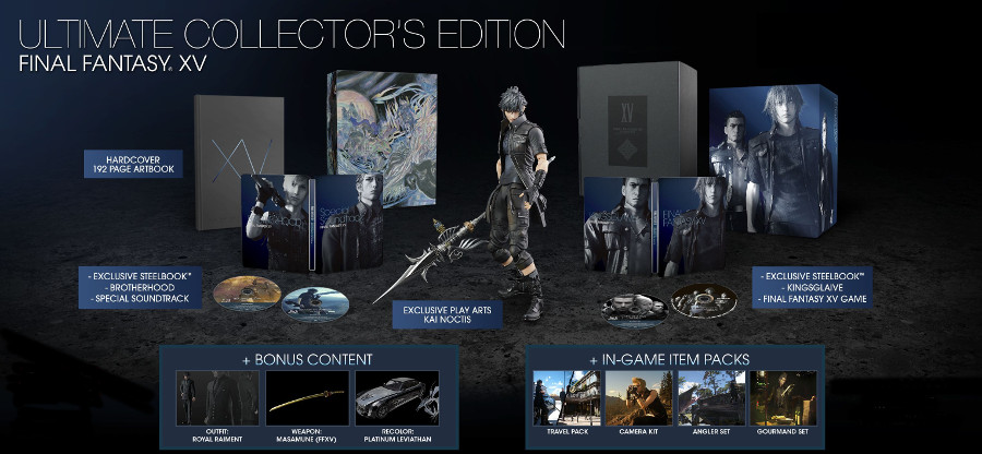 Final Fantasy XV - Ultimate Collectror's Edition