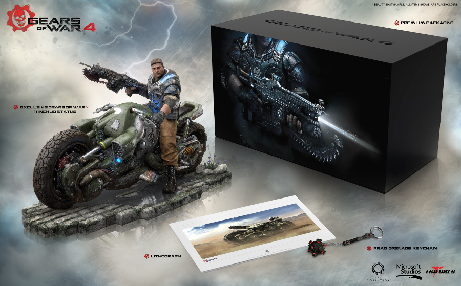 Gears of War 4 Collectors