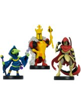 Аксессуар Amiibo Shovel Knight Treasure Trove 3-pack (Plague Knight, Specter Knight, King Knight) (без гарантии получения)