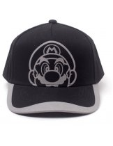 Аксессуар Бейсболка Difuzed: Nintendo: Super Mario Reflective Print Curved Bill Cap