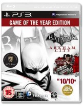 Купить Batman: Arkham City. GOTY [PS3]