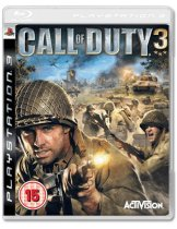 Диск Call of Duty 3 [PS3]