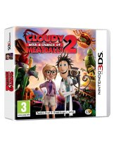 Диск Cloudy with a Chance of Meatballs 2 [3DS]