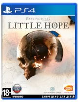 Диск Dark Pictures: Little Hope [PS4]