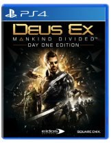 Купить Deus Ex Mankind Divided - Day One Edition [PS4]