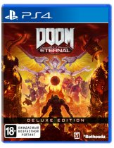 Диск DOOM Eternal - Deluxe Edition [PS4]