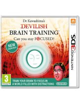 Купить Dr Kawashima's Devilish Brain Training: Can you stay focused? [3DS]