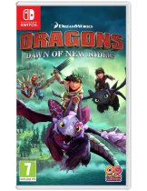 Обложка Dragons Dawn of New Riders [NSwitch]