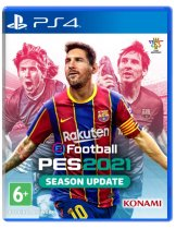 Диск eFootball PES 2021 Season Update [PS4]
