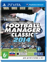 Купить Football Manager 2014 Classic (Б/У) [PS Vita]