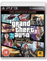 Диск Grand Theft Auto: Episodes from Liberty City [PS3]