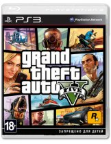 Диск Grand Theft Auto V (GTA 5) [PS3]