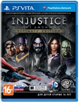 Диск Injustice: Gods Among Us - Ultimate Edition [PS Vita]