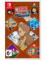 Диск Laytons Mystery Journey: Katrielle and the Millionaires Conspiracy - Deluxe Edition [Switch]