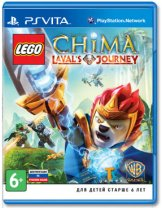 Диск LEGO Legends of Chima: Laval's Journey [PS Vita]