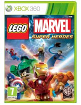 Обложка LEGO Marvel Super Heroes [X360]