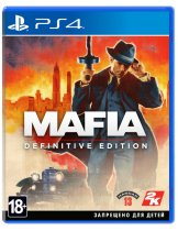 Диск Mafia: Definitive Edition [PS4]