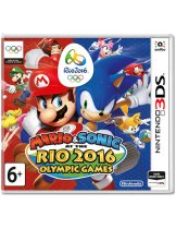 Купить Mario & Sonic at the Rio 2016 Olympics Games [3DS]