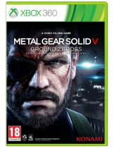 Обложка Metal Gear Solid: Ground Zeroes [X360]