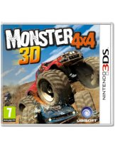 Диск Monster 4x4 [3DS]