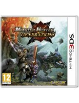 Купить Monster Hunter Generations (Б/У) [3DS]