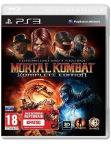 Купить Mortal Kombat. Komplete Edition [PS3]