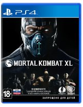 Диск Mortal Kombat XL [PS4]