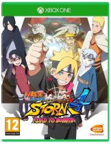 Диск Naruto Shippuden Ultimate Ninja Storm 4: Road to Boruto (Б/У) [Xbox One]