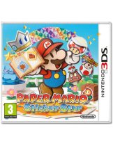 Диск Paper Mario: Sticker Star [3DS]