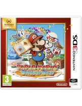Диск Paper Mario: Sticker Star [Nintendo Selects] (Б/У) [3DS]