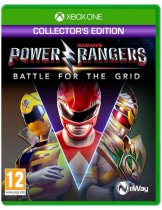 Диск Power Rangers: Battle for the Grid - Collectors Edition [Xbox One / Series X|S]