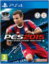 Диск Pro Evolution Soccer 2015 [PS4]