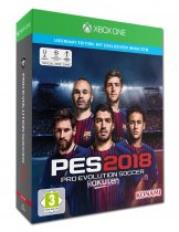 Купить Pro Evolution Soccer 2018 [Xbox One] Legendary Edition
