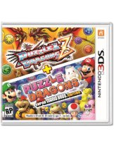 Диск Puzzle & Dragons Z + Puzzle & Dragons Super Mario Bros. Edition (Б/У) [3DS]
