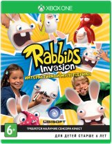 Диск Rabbids Invasion [Xbox One]