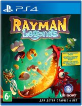 Диск Rayman Legends [PS4] Хиты PlayStation