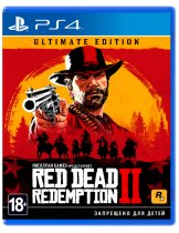 Купить Red Dead Redemption 2 - Ultimate Edition [PS4]