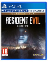 Диск Resident Evil 7: Biohazard Gold Edition [PS4]