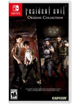 Обложка Resident Evil Origins Collection (US) [NSwitch]