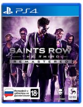 Диск Saints Row: The Third - Remastered [PS4]
