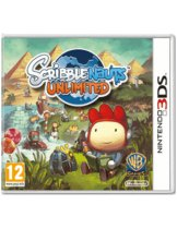 Диск Scribblenauts Unlimited (Б/У) [3DS]