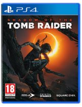 Диск Shadow of the Tomb Raider (Б/У) [PS4]