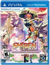 Shiren The Wanderer: The Tower of Fortune and the Dice of Fate [PS Vita]