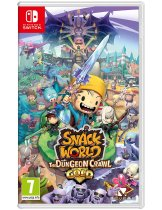 Диск Snack World: The Dungeon Crawl - Gold [Switch]