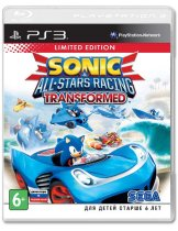 Диск Sonic & All-Star Racing Transformed [PS3]